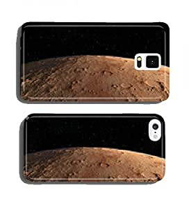 Mars Scientific illustration - planetary landscape cell phone cover case Samsung S5