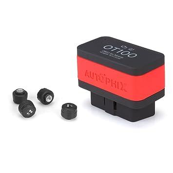 Autophix OT100 Bluetooth TPMS Tire Pressure Gauge Monitoring