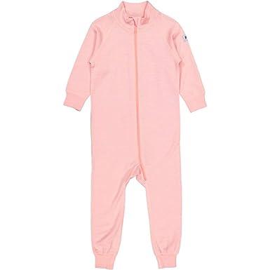 8a70a7c09 Amazon.com  Polarn O. Pyret Merino Wool Terry Romper (Baby)  Clothing