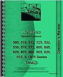 Belarus 825 Tractor Operators Manual