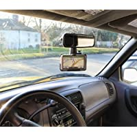 Heavy Duty Car Vehicle Rear Mirror Mount Holder for Gps Garmin nuvi 50 & 50LM