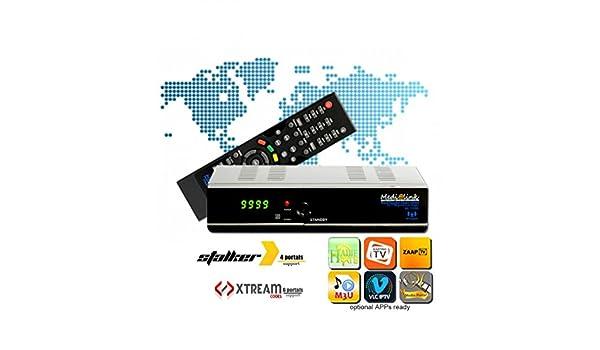 Medi @ link Media Link ml1150 IPTV Caja satelitten Receptor FTA Full HD: Amazon.es: Electrónica