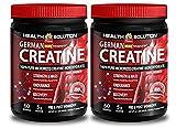 Creatine monohydrate creapure – GERMAN CREATINE CREAPURE MONOHYDRATE 500 GRAM 100 SERVINGS – improve energy (2 Bottles) Review