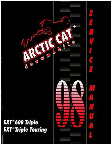 2255-727 1998 Arctic Cat EXT 600 Snowmobile Service Manual PDF