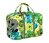 Vera Bradley Grand Cosmetic in Lime's Up, Bags Central