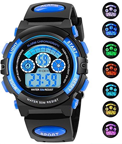 Часы для мальчиков AZLAND 7 Colors