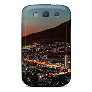 High Impact Dirt/shock Proof Case Cover For Galaxy S3 (south Africa Night)