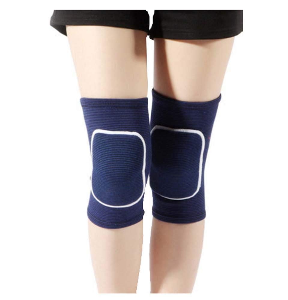 Ladies Enjoy Sports Running Dance Knees - Kneeling Sports Knee??Navy Blue