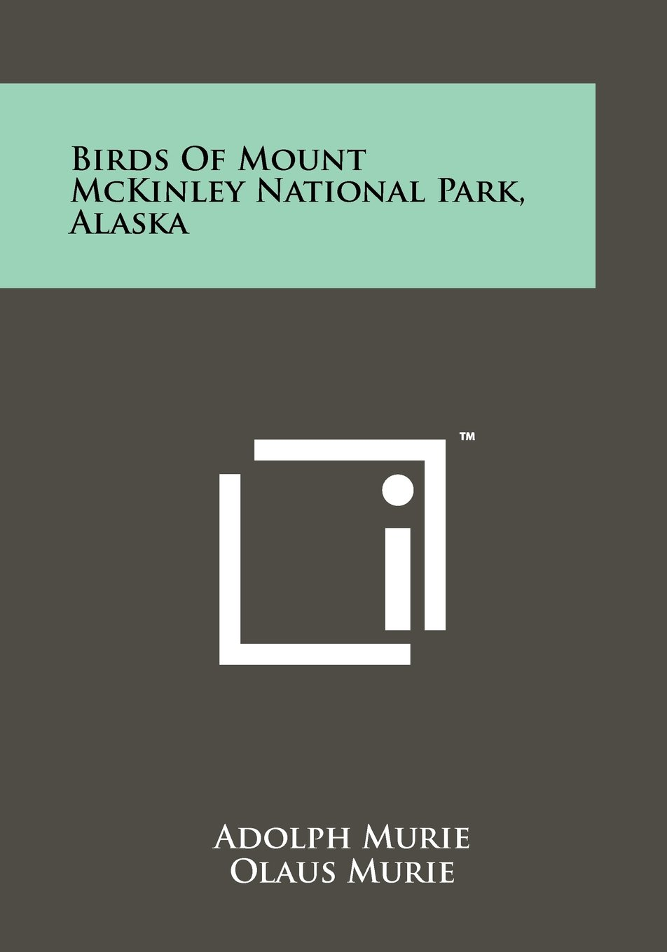 Birds Of Mount McKinley National Park, Alaska pdf epub