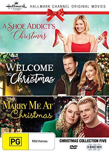 Hallmark Christmas 3 Film Collection (A Shoe Addict's Christmas/Welcome to Christmas/Marry Me at Christmas) (Dvd For Dream Christmas A)