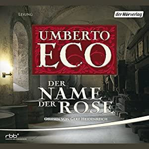 Der Name der Rose Audiobook