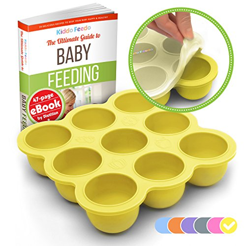 kiddo-feedo-baby-food-prep-storage-container-with-silicone-clip-on-lid-6-colors-available-bpa-free-f