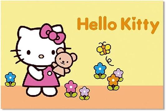 Letti Per Bambini Hello Kitty.Shbghy Cartoon Hello Kitty Hello Kitty Nordic 40 50cm Camera Da