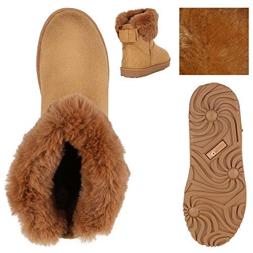 Stiefelparadies Kinder und Damen Stiefeletten Warm
