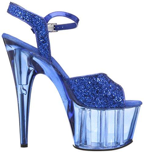 Pleaser ADORE-710GT Blue Glitter/Blue Tinted 3Gtb0