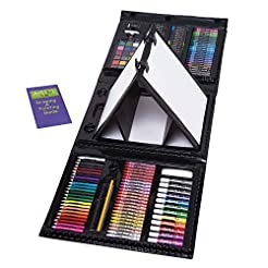 Art 101 Kids 179-Piece Double Sided Trif...