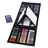 Art 101 Kids 179-Piece Double Sided Trifold Easel Set