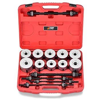 Image of EWK 27 PCS Wheel Bearing Bushing Press and Pull Sleeve Kit Removal Insertion Tool Set Bearing Pullers