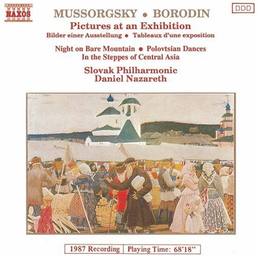 at an Exhibition; Night on Bare Mountain / Borodin: In the Steppes of Central Asia;  Polovtsian Dances ()