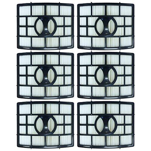 Felji 6 Pack HEPA Filter for Shark Rotator Pro Lift Away NV650, NV651, NV652, NV750, NV751, NV752, NV755 Part # XHF650 by Felji (Image #3)