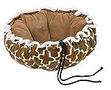 Cheap Bowsers Buttercup Bed, Small, Cedar Lattice