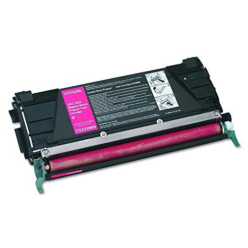 C530 Pc - Lexmark C5220MS Return program laser toner for lexmark c522/c524/c530/c532/c534, 3k yld, magenta