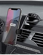 NULAXY Car Phone Holder 360 Degree Rotation Phone Car Cradle for Dashboard and Windscreen, Strong Suction Cup and Adjustable Arm Car Phone Mount for iPhone 11 PRO/XS/XS Max, Samsung Galaxy S9/S10/S20+