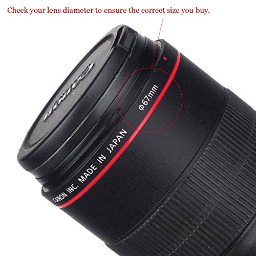 UNIQUE DESIGN Lens Cap Bundle,