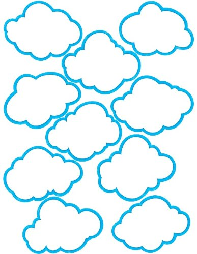 Teacher Created Resources Clouds Accents ()