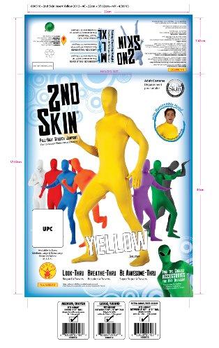 Rubie's Costume 2nd Skin Zentai Supersuit Costume