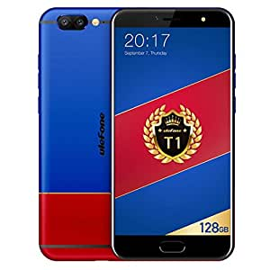 Ulefone T1 6GB+128GB 5.5 inch Android 7.0 MTK Helio P25 Octa Core 64-bit up to 2.6GHz WCDMA & GSM & FDD-LTE (Blue)