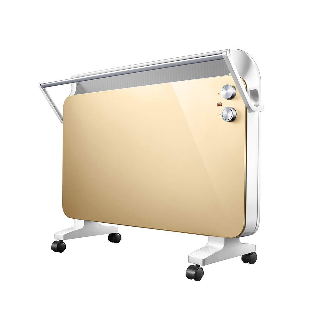Acquisto Jia He Riscaldatore Riscaldatore a convezione Portatile regolabile Protezione da surriscaldamento indipendente e funzione di spegnimento con ribaltamento Scaffale di stoccaggio pieghevole 2000W IPX2 C Prezzi offerte