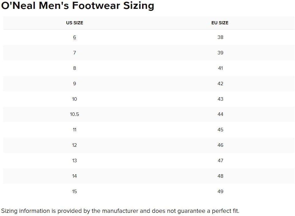 O'Neal Men's New Logo Rider Boot (Black, Size 11): Automotive