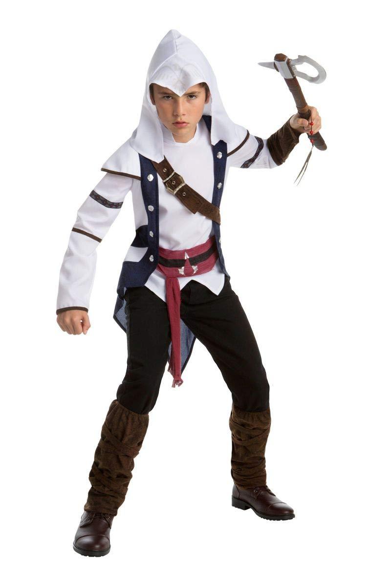 Disfraz Connor clásico Assassins creed Adolescente 10-12 años ...