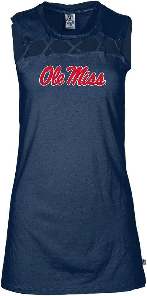 Official NCAA Ole Miss Rebels RYLMS06 Womens Criss Cross Tank