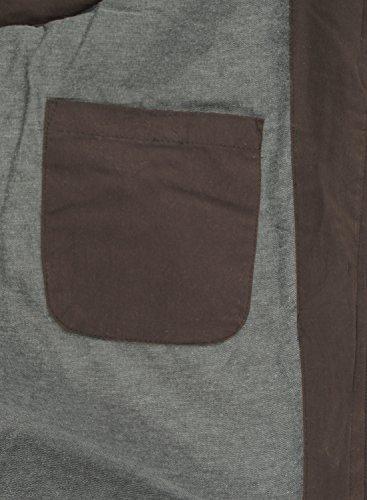 Giubotto Cappuccio solid Bean Piumino Coffee Gilet Dry Con qwrrXxE