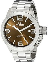 Men's CB22 Analog Display Quartz Silver Watch