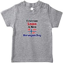 Cute Rascals Everyone Loves A Nice Norwegian Boy Norway Norwegians Toddler T-Shirt Jersey