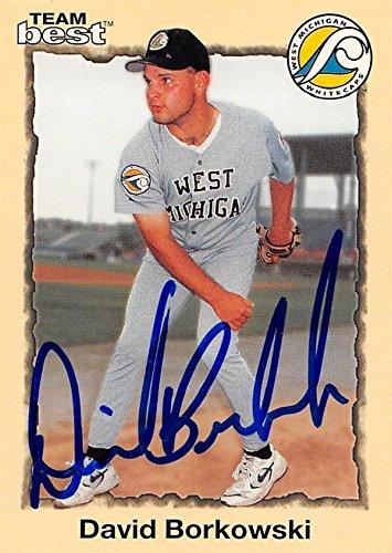 David Borkowski Autographed Baseball Card West Michigan