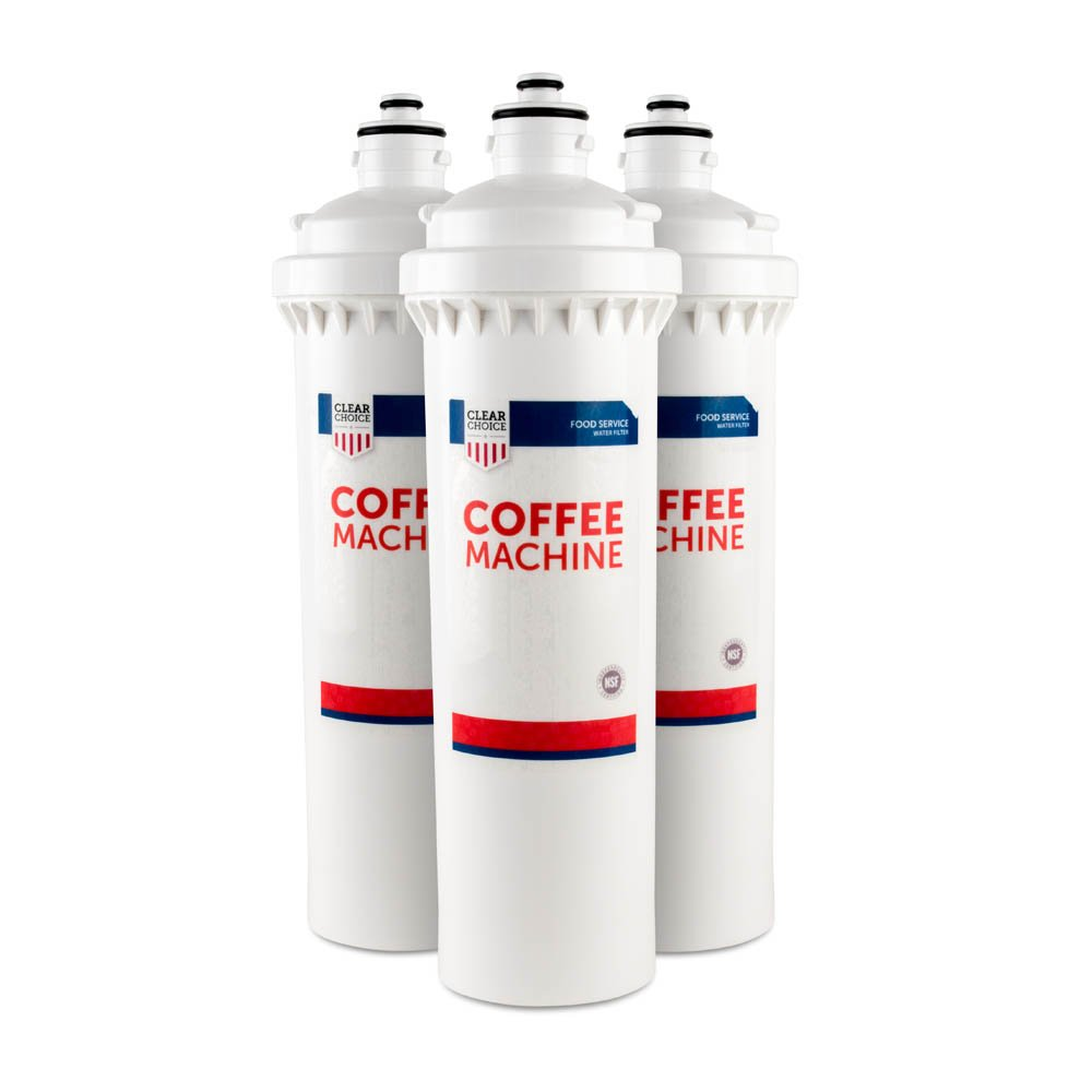 Clear Choice Coffee, Tea Filtration System Replacement Cartridge for Everpure EV9618-02 EV9618-07 EV9618-13 OCS2 Also Compatible with AquaPure AP317, Heritage EVEEV961802, Nu Calgon 9618-07, 3-Pack