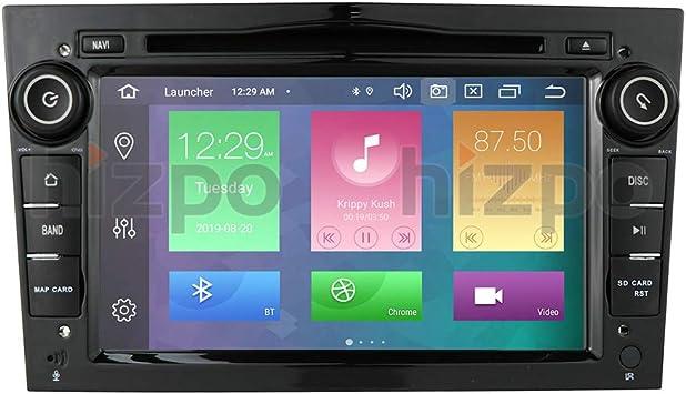 Android 10 Reproductor De DVD De Radio De Coche con GPS Bluetooth ...