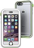 【日本正規代理店品】 catalyst 5m完全防水・防塵・耐衝撃ケース for iPhone6 ホワイト/グリーン