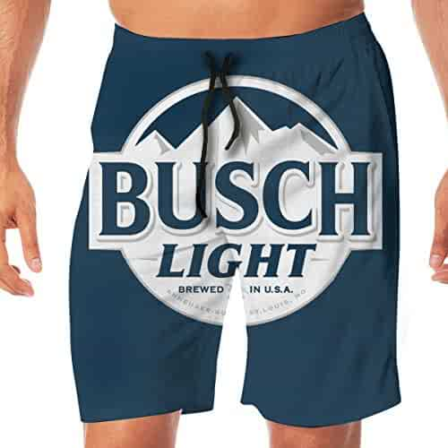 24c5228663 Beer Theme Men's Summer Holiday Quick-Drying Swim Trunks Beach Shorts Board  Shorts