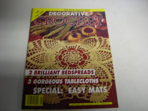 Decorative Crochet magazine September 1993 - Number 35 -