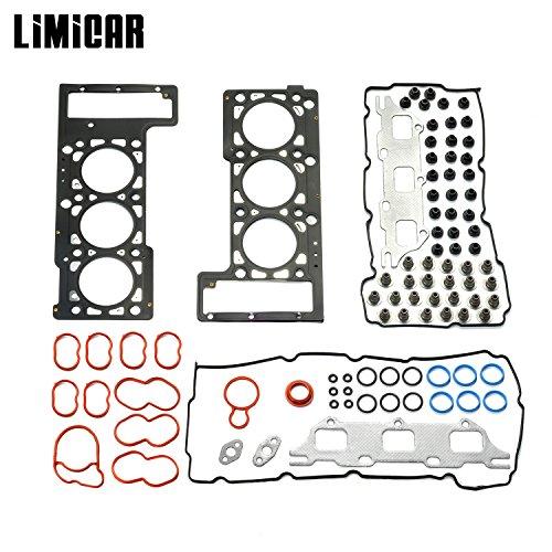 LIMICAR Cylinder Head Gasket Set For 05-10 Chrysler 300 01-04 Chrysler Concorde Intrepid Dodge Intrepid 01-10 Chrysler Sebring 08-10 Dodge Avenger 06-10 Dodge Charger 2.7L -