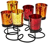 Kole Imports Decorative Wire Pedestal Candle Holder