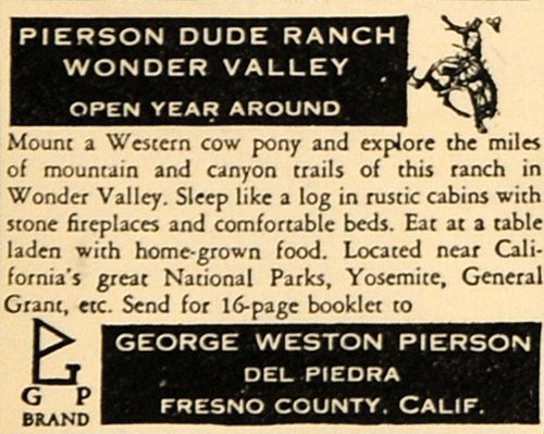 1930-ad-george-weston-pierson-dude-ranch-wonder-valley-original-print-ad