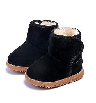 63f7a486543f0 Chaussures Bébé Binggong Chaussures bébé Prewalker Enfant en Bas âge Bottes  de Neige Martin Sneaker Bottes