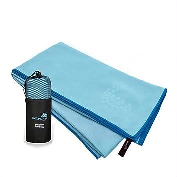 Nuevo, de fibra extrafino toalla de secado rápido, nadar, agua absorción, secado rápido toalla, toalla de viaje al aire libre: Amazon.es: Deportes y aire ...