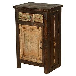 Rustic Solid Reclaimed Wooden Modern Antique Handmade Bedside